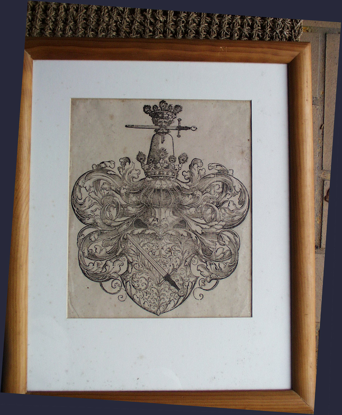Old Master Woodblock Print